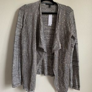 Grey Sequin Sweater